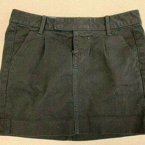 Gap Women Size 24/00 Black Stretch Cotton/Spandex